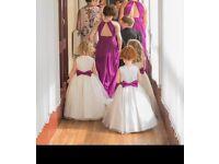 Bridesmaid & flower girl dresses