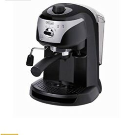DElONGHI espresso Coffee machine great condition used 8 times Must see!!