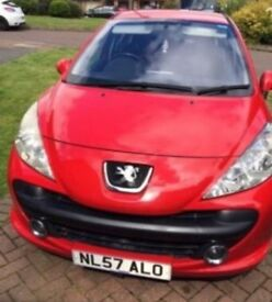 Peugeot 207 1.6HDI Sport for sale