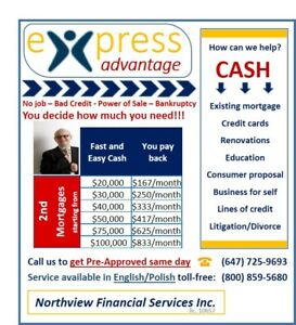2ND SECOND MORTGAGES, PRIVATE LENDER