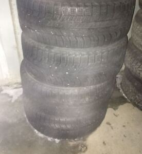 Set of 4 TIRES MICHELIN X-ICE 205-55R16