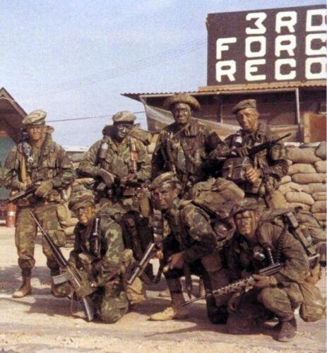 Vietnam War USMC 3rd Force Recon 1970 Covert Ops Grainy Glossy 8x10 Photo