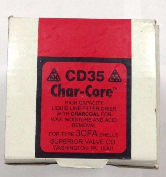 ~Discount HVAC ~ CD35 - Superior Char-Core Liquid Line Filter Drier 3CFA