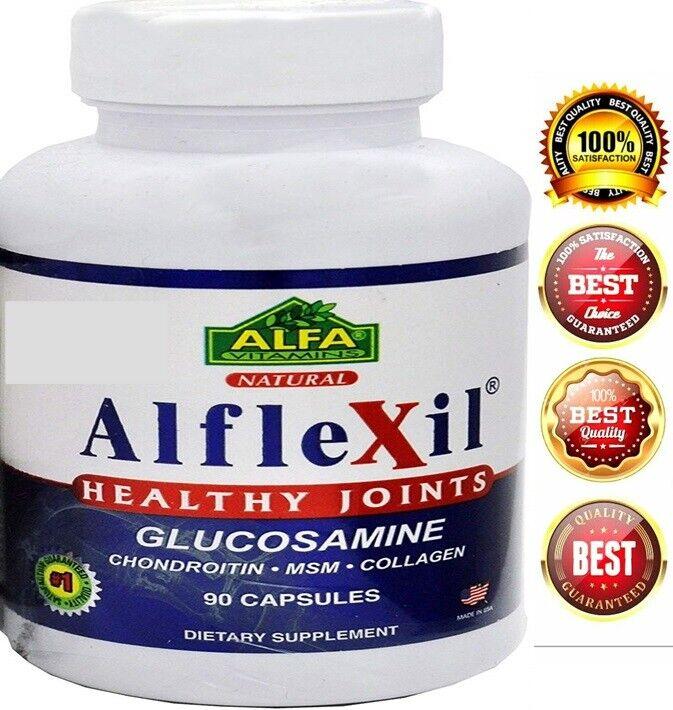 #1 Colageno Glucosamina Condroitina Acido Hialuronico Alivia Articulaciones 2850