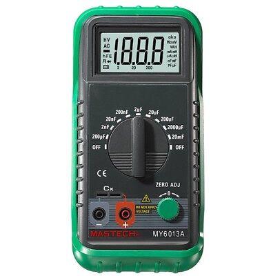 Mastech My6013a Multimeter Capacitor Tester Tecrep Digital Capacitance Meter