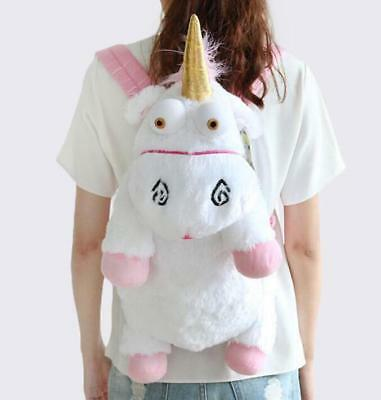 Despicable Me Unicorn Backpack Fluffy Minions Einhorn Plüsch Rucksack 60cm