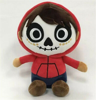 """New Pixar Coco Day of the Death Miguel 8"""" Stuffed Toy Plush Doll"""