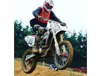 2008 honda crf 250 motocross bike
