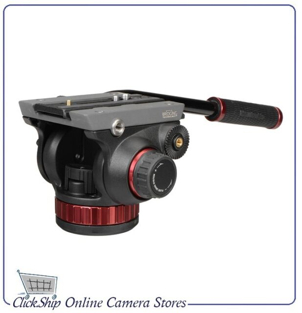 "Manfrotto MVH502AH - 502HD Pro Video Head with Flat Base (3/8""-16) Connection"
