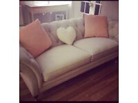 Beautiful 3 seater Laura Ashley Sofa- bought 6 months ago for £1500