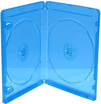 50 BluRay Leerhüllen für 2 Blu Ray 2er Bluray BOXEN BD 170 x 135 x 11 mm