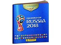 Panini Russia FIFA World Cup 2018 stickers to swap via post