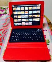 Brookstone Bluetooth IPad Case with keyboard