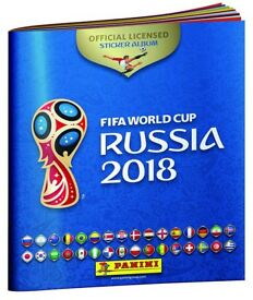 World Cup Russia 2018 Panini Stickers