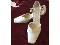Wedding shoes.
