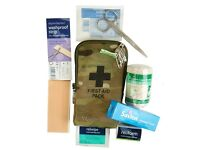 Brand new unopened WEB TEX military products small first aid kit .