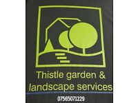 For all garden landscaping & tree surgery work