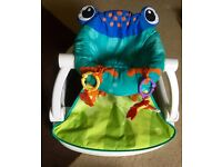 Fisher price sit me up chair frog