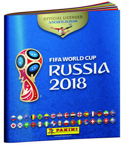 2018 FIFA World Cup Russia Sticker Collection $ 1.25 paquet