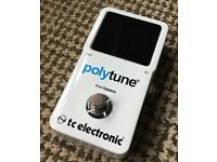 Tc Electronics Polytune 2 Guitar Tuner Pedal - Collection, Newent, Glos