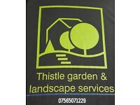 For all garden,landscaping & tree surgery work