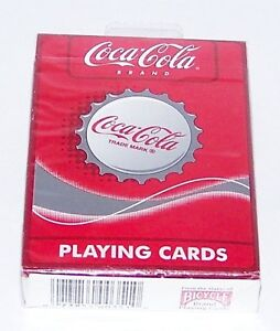 1999-NIP-1-DECK-BICYCLE-BRAND-COCA-COLA-BOTTLE-CAPS-PLAYING-CARDS-in-CELLO-WRAP