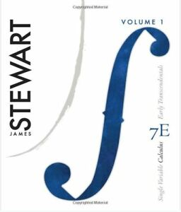 Stewart Single Variable Calculus 7th Edition w/ Solutions