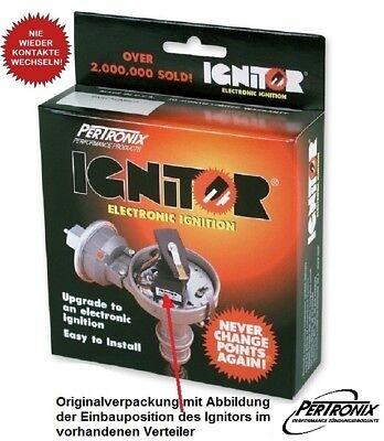PERTRONIX Ignitor-I Elektronikzündung für ALLE 4-Zyl. mit BOSCH + Unterdruckdose
