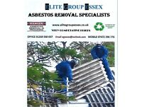 Asbestos roof removal and asbestos waste collection service Essex /Suffolk / London