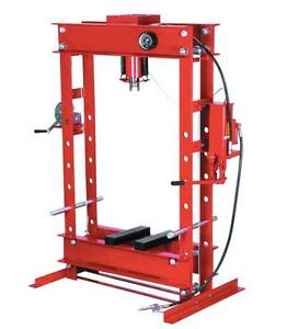 HOC SP50 - 50 TON DUAL SPEED INDUSTRIAL HYDRAULIC SHOP PRESS + 1 YEAR WARRANTY + FREE SHIPPING