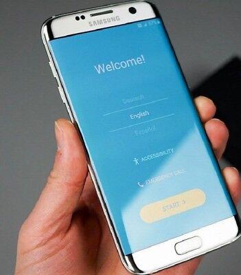 New Overstock Samsung Galaxy S7 edge SM-G935V 32GB Silver Ti