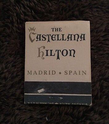 Matchbook The Castellana Hilton Hotel Madrid Spain