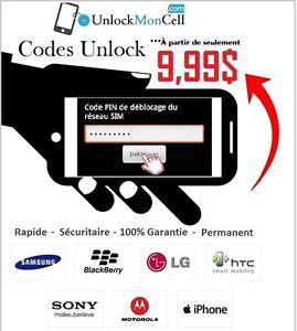 Code de Déverrouillage - Factory Unlock $10