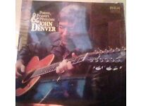 john denver,vinyl record,lp,poems,prayers and promises.