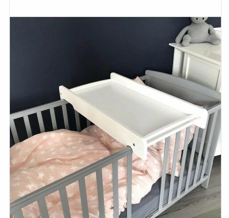 Cot Crib Changing Table And Matress