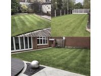 Grass cutting garden services pressure washing Fencing window cleaning