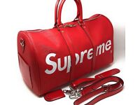 Louis Vuitton x supreme duffle/hold-all