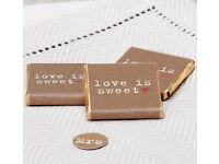 20 X chocolate Wedding Favours - Brand New