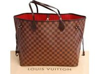 Louis Vuitton Neverful gm handbag boxed