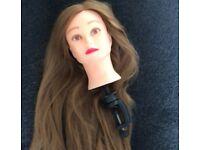 Styling head doll