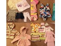 Bundle of girls 3-6 months next and Gap clothes