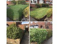 Grass cutting gardening services