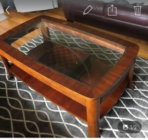 Living Room coffee table and 2 end tables