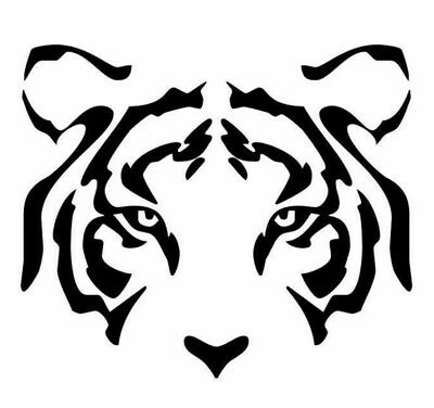 "TIGRES UANL CUT DECAL STICKER yellow   AMARILLO 3.5""X 5.25"" buy 2 get 1 free"