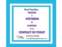 Host families wanted in Steyning
