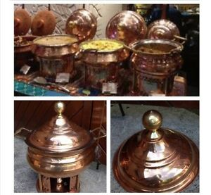 Cheffing dishes copper / copper Bain Marie / copper serving dish Bentleigh East Glen Eira Area Preview