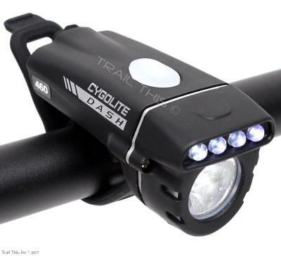 CYGOLITE DASH 460 USB RECHARGEABLE LED BIKE HEADLIGHT ROAD M