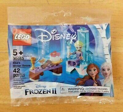 LEGO 30553 ~ Disney ~ Frozen 2 ~ Elsa's Winter Throne ~ Polybag