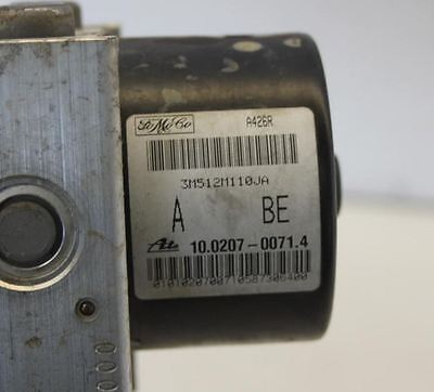 Left Picture shows an example ABS Pump and the right picture shows the part numbers