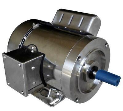 Gator Stainless Steel Ac Motor Single Phase 13hp 1800rpm 56c Tefc 1 Yr Warranty